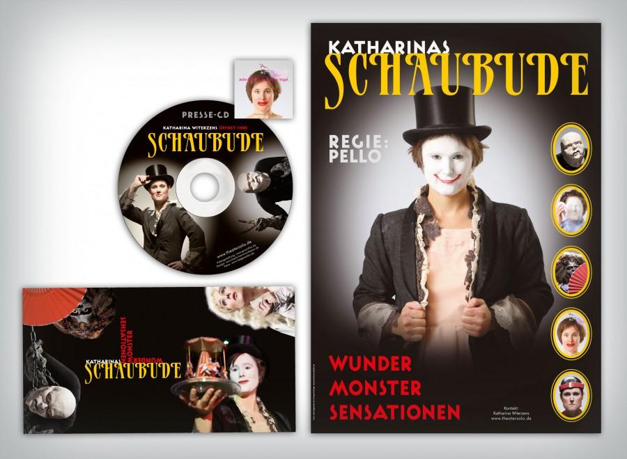 Tosch_Schaubude_Pressemappe-Flyer-Aufkleber